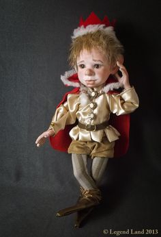 Prince male BJD doll. Art doll, ooak. Full body porcelain ball jointed doll by LegendLand Dolls
