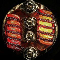 Twisted vape coil #efuntop #vapelife #vaping #twistedcoil #diycoil