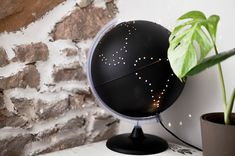 decór blanc: DIY globus návod