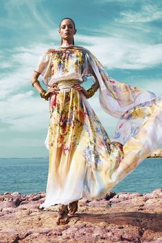 """Gipsy"" Flowers and shades of sheer lightness."