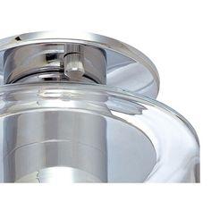 Sonneman Transparence Semi Wall Fixture / Semi Flush Mount | AllModern
