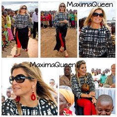 Queen Maxima visits Tanzania, day 3.  #13december2013 #queenmaxima #tanzania #africa #afrika #queen #netherlands #dutch #koninginmaxima #Padgram