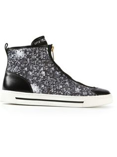 Shop now: Marc by Marc Jacobs embellished hi-top sneaker