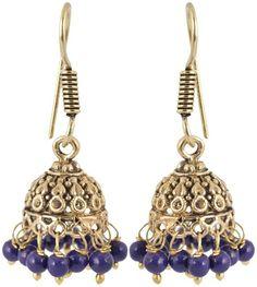 Silver Brass Dangle & Drop Earrings for Women, bollywood, metal earring, Earring Wear in patry, beautifull, latest jewellery for girls, earring for girls - Waama Jewels Earring