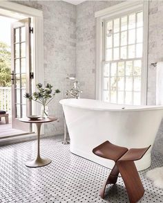 Dream master bathroom dream bathroom design dream bathroom with french doors and soaking tub house tour . Bathroom Tile Designs, Bathroom Interior Design, Decor Interior Design, Interior Decorating, Bathroom Ideas, Decorating Ideas, Bathroom Organization, Decorating Websites, Bath Ideas
