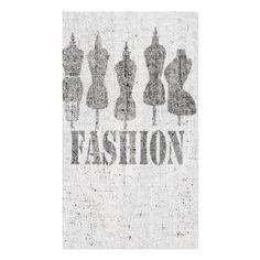 Retro Cute Vintage Tailor Dress Forms Business Card
