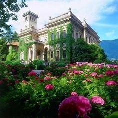 Villa Erba, Lake Como, Italy.