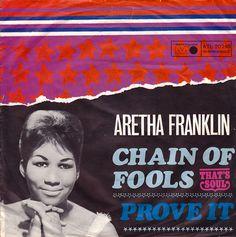 Aretha Franklin - German Single 1968