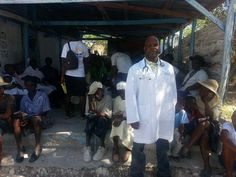 "Dr. Julien Sanon, recent graduate of the online MPH in Nutrition program, traveled to Haiti this past fall with the LeSage Foundation. Dr. Sanon said, ""I was able to use the knowledge that I obtained from my UMass public health nutrition training to have an impact on a very poor underserved community of my [birth] country."""