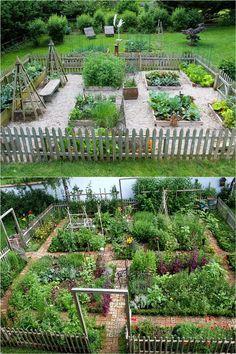 8 Easy Steps to Start Your Best Vegetable Garden! 8 Easy steps to plan & start an abundant vegetable Starting A Vegetable Garden, Backyard Vegetable Gardens, Potager Garden, Veg Garden, Vegetable Garden Design, Edible Garden, Garden Beds, Beginner Vegetable Garden, Easy Garden