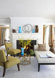 These 12 updates show how to make sure your living room is a warm embrace, whether it's small or large, formal or informal.