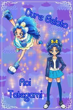 Cure Gelato (Kirakira Precure A la Mode!)