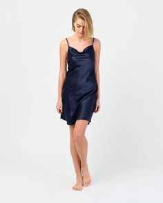 Available in multiple colours, our night dress is as stylish as it is effortless. Luxuriously soft and lightweight, this piece will make the perfect addition to your sleepwear. Night Dress For Women, Sleepwear Sets, Mulberry Silk, Cowl Neck, Nightwear, The Dreamers, Pure Products, Stylish, Colours