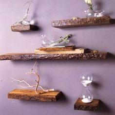 Rustic Shelves http://www.home-storage-ideas.com/rustic-shelf/  #rustic #shelf #shelves