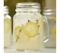 mason jars with handles
