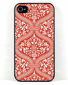 Red and White Delight iPhone Case