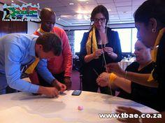Creative Construction Team Building Cape Town