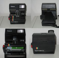 My Polaroid Spirit 600 CL Camera