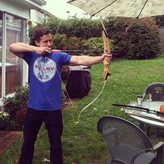 Bow practice #bow #recurve #arrow #shooting #target #practice #viking #valhalla #cabellas #shelby #hunting #Padgram