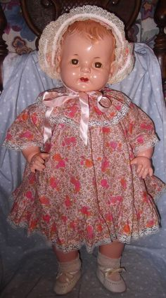 Effanbee Largest Sugar Baby Composition Doll - Mint