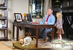 Casa Bella Galleria   Family Owned Furniture Store, Sacramento California.  Meet Lucy And Ricky, Our Furry Four Legged Friends.