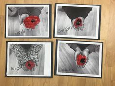"""What Does Peace Feel Like?"" (from Ms. Remembrance Day Activities, Remembrance Day Poppy, Full Day Kindergarten, Kindergarten Art Lessons, Craft Activities For Kids, Preschool Crafts, 3rd Grade Art, Grade 2, Peace Crafts"