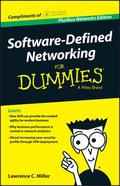 Pluribus Networks Edition Software Defined Networking For Dummies