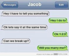 How Not To Break Up Via Text http://mohsinalijunaed.tinybytes.me/biggest-break-up-text-fails
