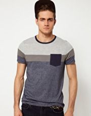 ASOS T-Shirt With Cut And Sew Panels