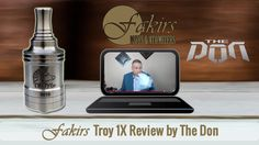 "Dear The Don was published review of Fakirs Troy 1X on YouTube at April 23, 2015.  Thanks to ""The Don"" for the awesome #Troy1X RDA review.  Enjoy it ⚠  #MeetTheFakirs #ecig #FakirsTroy1X #DatTroy1XDoe #vape #vapeon #highendmodsonly #vapelyfe #vapefam #vapearazzi #instavape #nwvapers #calivapers #eastcoastvapers #westcoastvapers #vapersuite #vapesirens #vapesiren #vapestagram #vapecommunity #vaporizer #vapeporn #vaporporn #vaporlife #vapelife #vapelove #dripaddicts #ecigreviews"