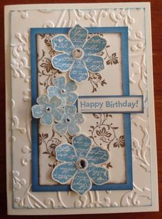 Blue birthday 2 by beetle76 - Cards and Paper Crafts at Splitcoaststampers