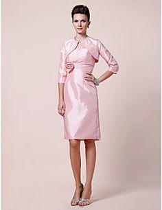 3450a1347d20 Lanting Bride® Pouzdrové Větší velikosti   Malé Šaty pro matku nevěsty -  Včetně bolerka Ke