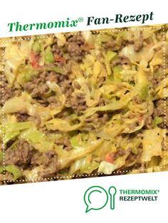 Spitzkohl mit Hackfleisch und Reis von patricia.klein. Ein Thermomix ® Rezept aus der Kategorie Hauptgerichte mit Fleisch auf www.rezeptwelt.de, der Thermomix ® Community.
