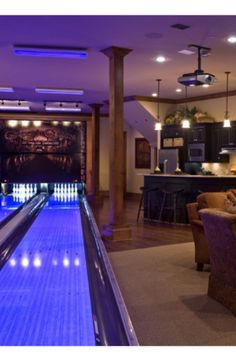 Houzz.com - Bowling Alley anyone?  Black lights included!