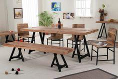 Upea lankkupöytä ja tuolit nopealla toimituksella! | Huonekaluliike Koti-Siili Oy