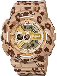 Casio Baby-g 'Leopard Series' Ba-110lp-9ajf Japan Import Casio http://www.amazon.com/dp/B00N08LY7W/ref=cm_sw_r_pi_dp_DAqAub0ZQ55E2