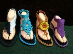 Crochet slippers - doable?