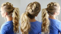20+Styling+Option+For+Double+Braid+Dutch+Ponytail