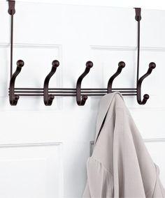 Buy Black Over the Door Hangers 6 pc Online India Zansaar Home