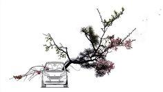 """smart as vase""    Este trabajo de Shun Kawakami (artista), Tadashi Ura (ilustrador) y Taisuke Koyama (fotógrafo) fue publicado en la revista ""+81"". Tokio (Japón)"