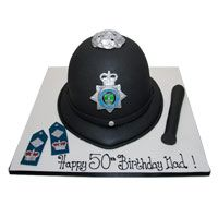 cake Police Birthday Cakes, Police Party, Cake Ideas, Muffins, Board, Desserts, Tailgate Desserts, Muffin, Deserts
