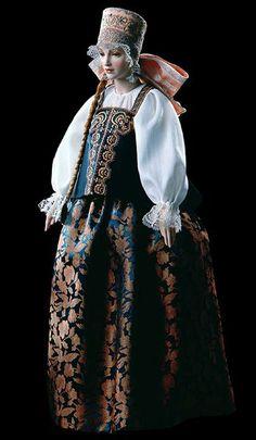 Мобильный LiveInternet Русский костюм в работах Александры Кукиновой. | ludvik - Дневник ludvik |