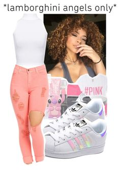 """Angel -"" by babygirlnia14 ❤ liked on Polyvore featuring adidas Originals and WearAll"