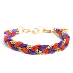 Vintage Sari Bracelet Chili now featured on Fab.