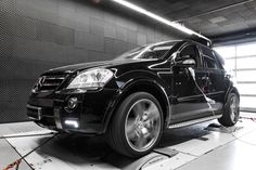 Mcchip-DKR Mercedes-Benz ML 63 AMG produces 539 PS power from 510 PS (1)