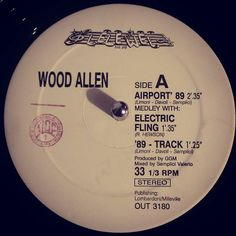 #nowspinning Wood Allen - Airport 89. Out: OUT 3180 (1989). Pulling some bits for Sunday's Wax session and this was nestled in my Detroit bits. From the off it has a classic house riff and that screaming sample is quality. Jumpy bass and break albeit slow works. Track comes alive after that with a nice big break so nice you want it to carry on for longer. Classic piece of Euro dance. Flip it over for another mix and a bunch of sounds and frequencies for scratching. #house #eurohouse #techno…