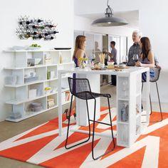 Bar table - White - Clean