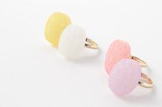 Sweet rings by cikolata/ドロップリング | トウメイ#japanesefashion #jewelry