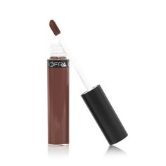 """Brown lipstick is a bit of a dark horse in the makeup world. While reds are classic and pinks are girly, browns are edgy and a little mysterious (just how I like my makeup). Here are the nine best brown lipsticks to shop and how to rock them. First, """"brown"""" is a blanket statement that really https://www.ofracosmetics.com/collections/lips/products/long-lasting-liquid-lipstick?variant=11110935750"""