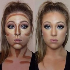 Easy contouring for beginners Image 1 - Makeup Secrets makeup kit, . Easy contouring for beginners Image 1 - Makeup Secrets makeup case, # MAKEUP # Secrets # TutorialfürGesichtsmakeup <-> Easy Contouring, Contouring For Beginners, Makeup For Beginners, How To Contour For Beginners, Makeup Tips Contouring, Contour Makeup Products, How To Blend Contouring, Makeup Brushes, Beauty Products